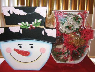 Snowman Cookie box