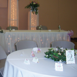 Card Holders, Centerpieces, Napkins